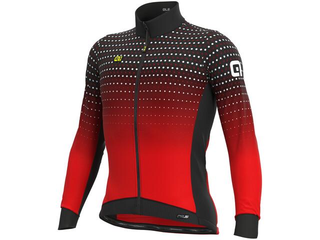 Alé Cycling PR-S Bullet Winter DWR Maillot À Manches Longues Homme, black/red